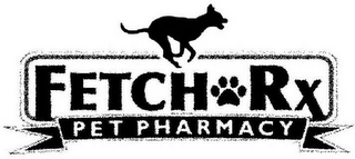 mark for FETCH RX PET PHARMACY, trademark #85920316