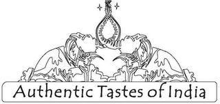 mark for AUTHENTIC TASTES OF INDIA, trademark #85920494