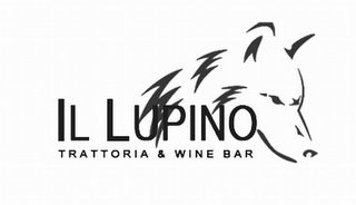 mark for IL LUPINO TRATTORIA & WINE BAR, trademark #85920600