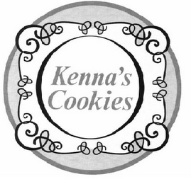 mark for KENNA'S COOKIES, trademark #85920654