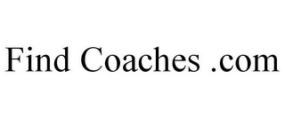 mark for FIND COACHES .COM, trademark #85920732