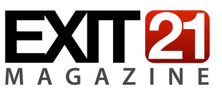 mark for EXIT 21 MAGAZINE, trademark #85921352