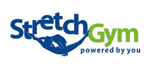 mark for STRETCH GYM POWERED BY YOU, trademark #85921361