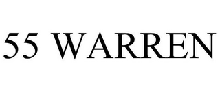 mark for 55 WARREN, trademark #85921416