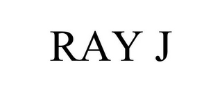 mark for RAY J, trademark #85921974