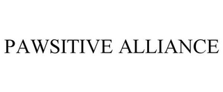 mark for PAWSITIVE ALLIANCE, trademark #85922438