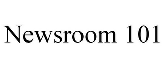 mark for NEWSROOM 101, trademark #85922476