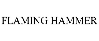 mark for FLAMING HAMMER, trademark #85922501