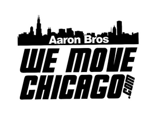 mark for AARON BROS WE MOVE CHICAGO.COM, trademark #85922581