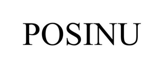 mark for POSINU, trademark #85922657