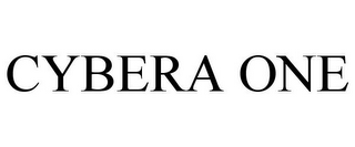 mark for CYBERA ONE, trademark #85922674