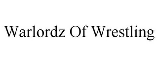 mark for WARLORDZ OF WRESTLING, trademark #85922726
