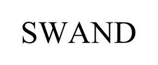 mark for SWAND, trademark #85922875