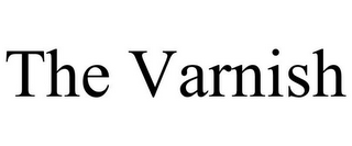 mark for THE VARNISH, trademark #85922949