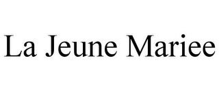 mark for LA JEUNE MARIEE, trademark #85923136