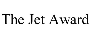 mark for THE JET AWARD, trademark #85923847