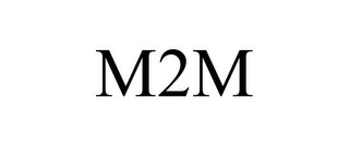 mark for M2M, trademark #85924046