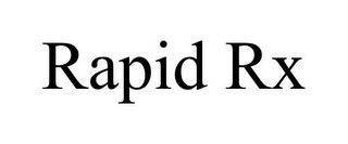 mark for RAPID RX, trademark #85924994