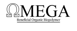 mark for OMEGA BENEFICIAL ORGANIC BIOPOLYMER, trademark #85925930