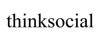 mark for THINKSOCIAL, trademark #85926060