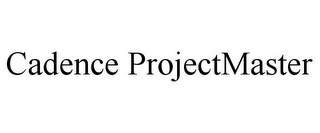 mark for CADENCE PROJECTMASTER, trademark #85926844
