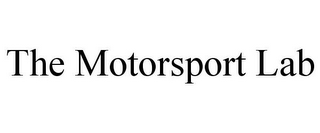 mark for THE MOTORSPORT LAB, trademark #85926988