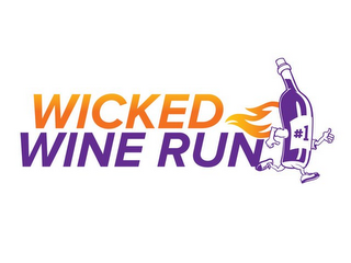 mark for WICKED WINE RUN, trademark #85927236