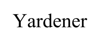 mark for YARDENER, trademark #85927310
