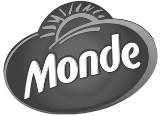 mark for MONDE, trademark #85927504