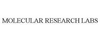 mark for MOLECULAR RESEARCH LABS, trademark #85927531