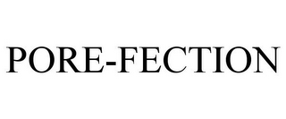 mark for PORE-FECTION, trademark #85927600