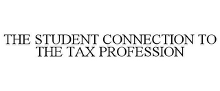 mark for THE STUDENT CONNECTION TO THE TAX PROFESSION, trademark #85927921