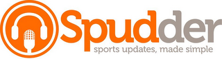 mark for SPUDDER SPORTS UPDATES, MADE SIMPLE, trademark #85928310