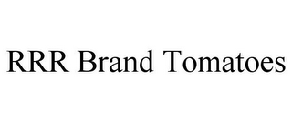 mark for RRR BRAND TOMATOES, trademark #85928498