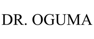 mark for DR. OGUMA, trademark #85928692