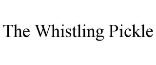 mark for THE WHISTLING PICKLE, trademark #85929424
