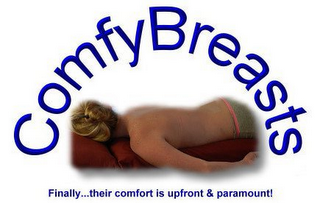mark for COMFYBREASTS FINALLY...THEIR COMFORT IS UPFRONT & PARAMOUNT!, trademark #85929600