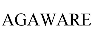 mark for AGAWARE, trademark #85929670