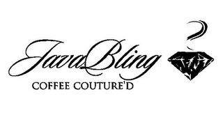 mark for JAVABLING COFFEE COUTURE'D, trademark #85929739