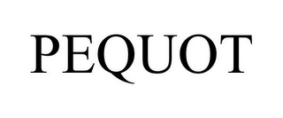 mark for PEQUOT, trademark #85930124