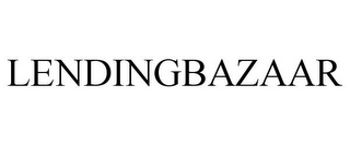 mark for LENDINGBAZAAR, trademark #85930162