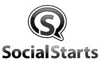 mark for S SOCIALSTARTS, trademark #85930202
