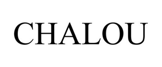 mark for CHALOU, trademark #85930265