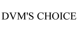 mark for DVM'S CHOICE, trademark #85931033
