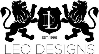 mark for LD EST. 1999 LEO DESIGNS, trademark #85931426