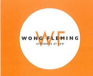 mark for WF WONG FLEMING ATTORNEYS AT LAW, trademark #85931496