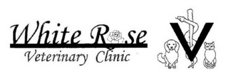 mark for WHITE ROSE VETERINARY CLINIC, trademark #85931751