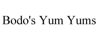 mark for BODO'S YUM YUMS, trademark #85931964