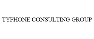 mark for TYPHONE CONSULTING GROUP, trademark #85932012