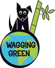 mark for WAGGING GREEN, trademark #85932457